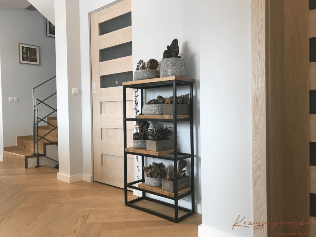 nowoczesne wnętrza w stylu loft