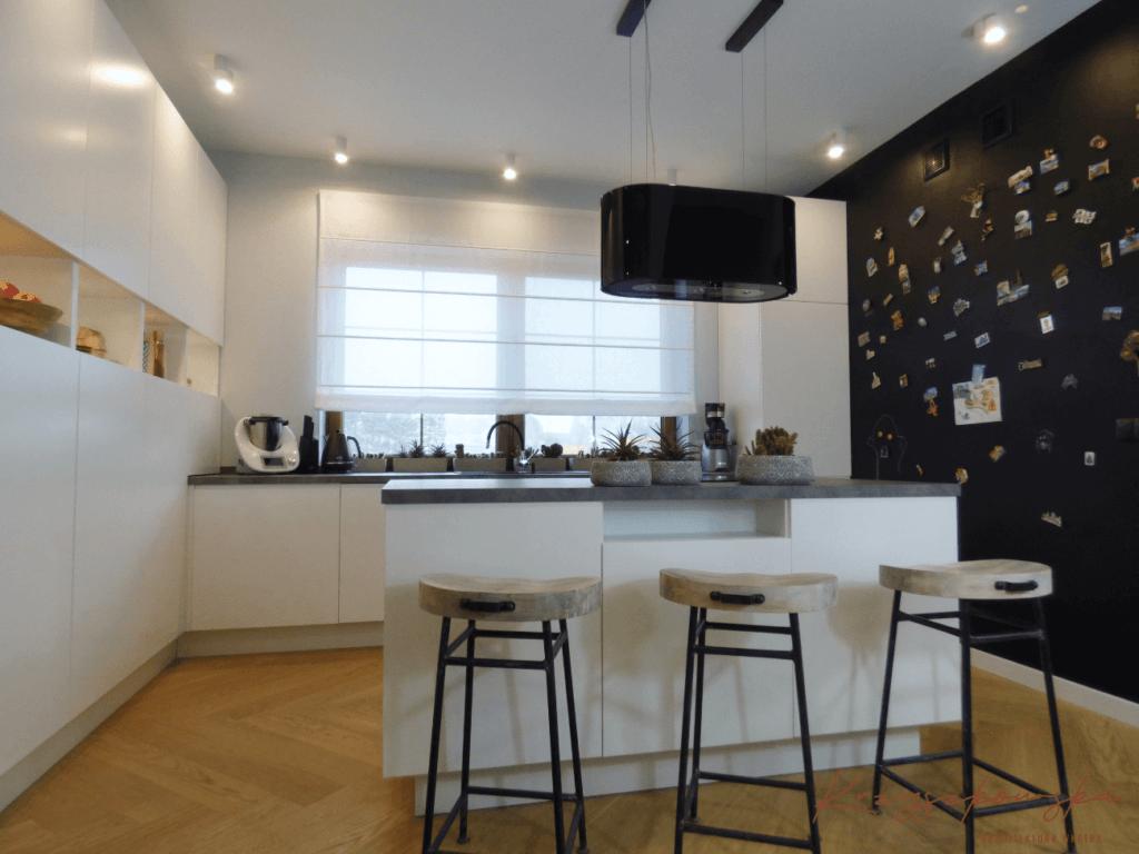 nowoczesna kuchnia z wyspą